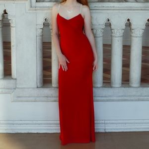 Beautiful Red Caché Prom Dress